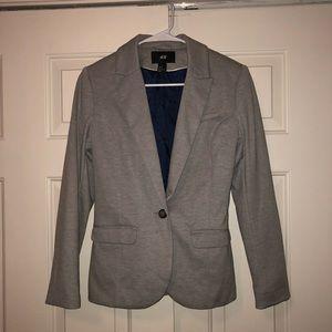 H&M Gray & Blue Blazer Size 6